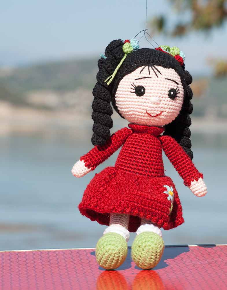 Amigurumi Dress-up Doll | HappyBerry | 1002x785